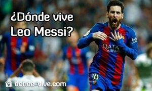 Dónde vive Messi