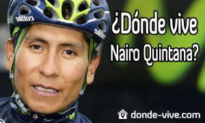 Dónde vive Nairo Quintana