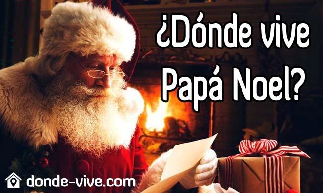 Dónde vive Papá Noel