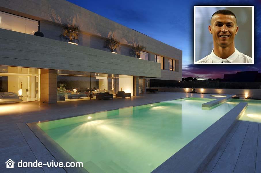 La casa de Cristiano Ronaldo