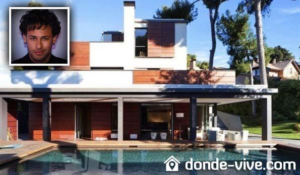 La casa de Neymar