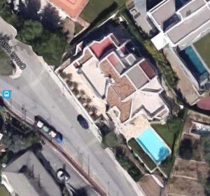 Mapa de la casa de Shakira