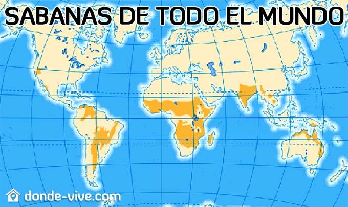 Sabanas de todo el mundo