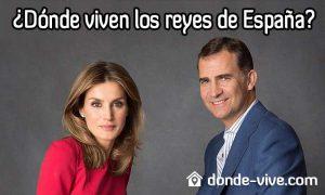 Dónde viven los reyes de España