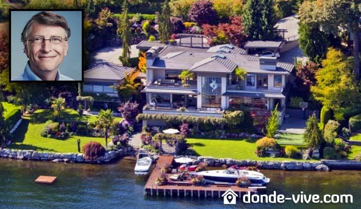 La mansión de Bill Gates