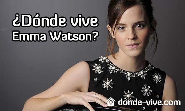 Dónde vive Emma Watson