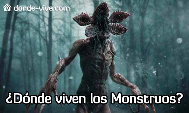 Dónde viven los monstruos