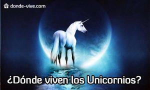 Dónde viven los unicornios