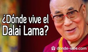 Dónde vive el Dalai Lama