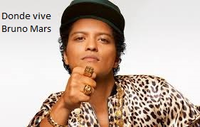 ¿Dónde vive Bruno Mars?